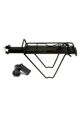 TOUR SERIES CARRIER RACK TOUR SERIES SEAT POST MOUNTED QR WITH BAG STAYS & SPRING BOW ALLOY BLACK