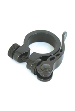 BIKECORP BIKECORP SEAT CLAMP 34.9MM WITH Q/R BLACK