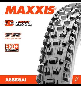 """MAXXIS MAXXIS ASSEGAI 29 X 2.50"""" WT TR EXO+ 3C MAXX TERRA FOLD 60TPI TYRE"""