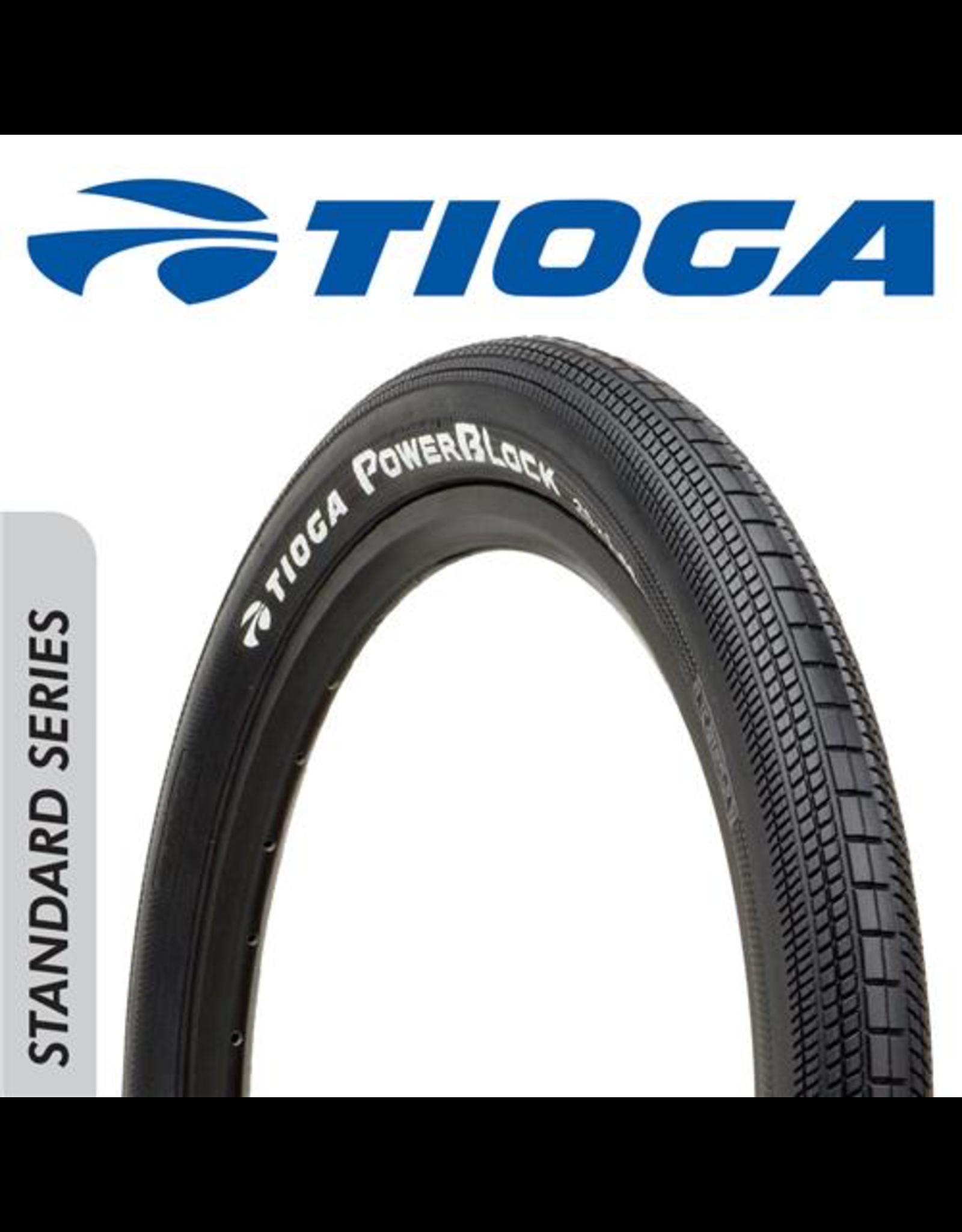"TIOGA TIOGA POWERBLOCK 24 X 1.60"" TYRE"