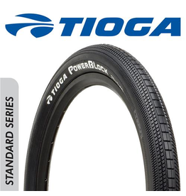 "TIOGA TIOGA POWERBLOCK 24 X 1.75"" TYRE"