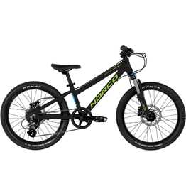 """NORCO NORCO YOUTH 20"""" CHARGER BLACK/GREEN"""