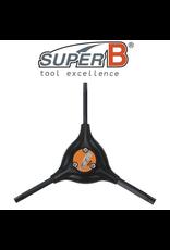 SUPER-B TOOL SUPER-B CLASSIC Y-WRENCH TORX KEY SET 25/30/40
