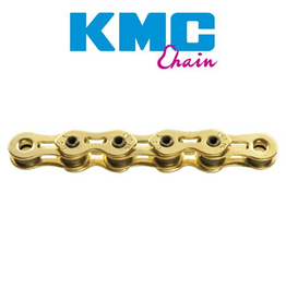 "KMC KMC CHAIN K810SL 1/2X3/32"" SINGLE SPEED 112L GOLD"