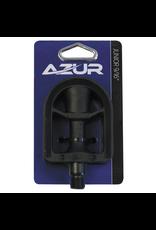 """AZUR AZUR JUNIOR 1/2"""" BLACK PEDALS"""