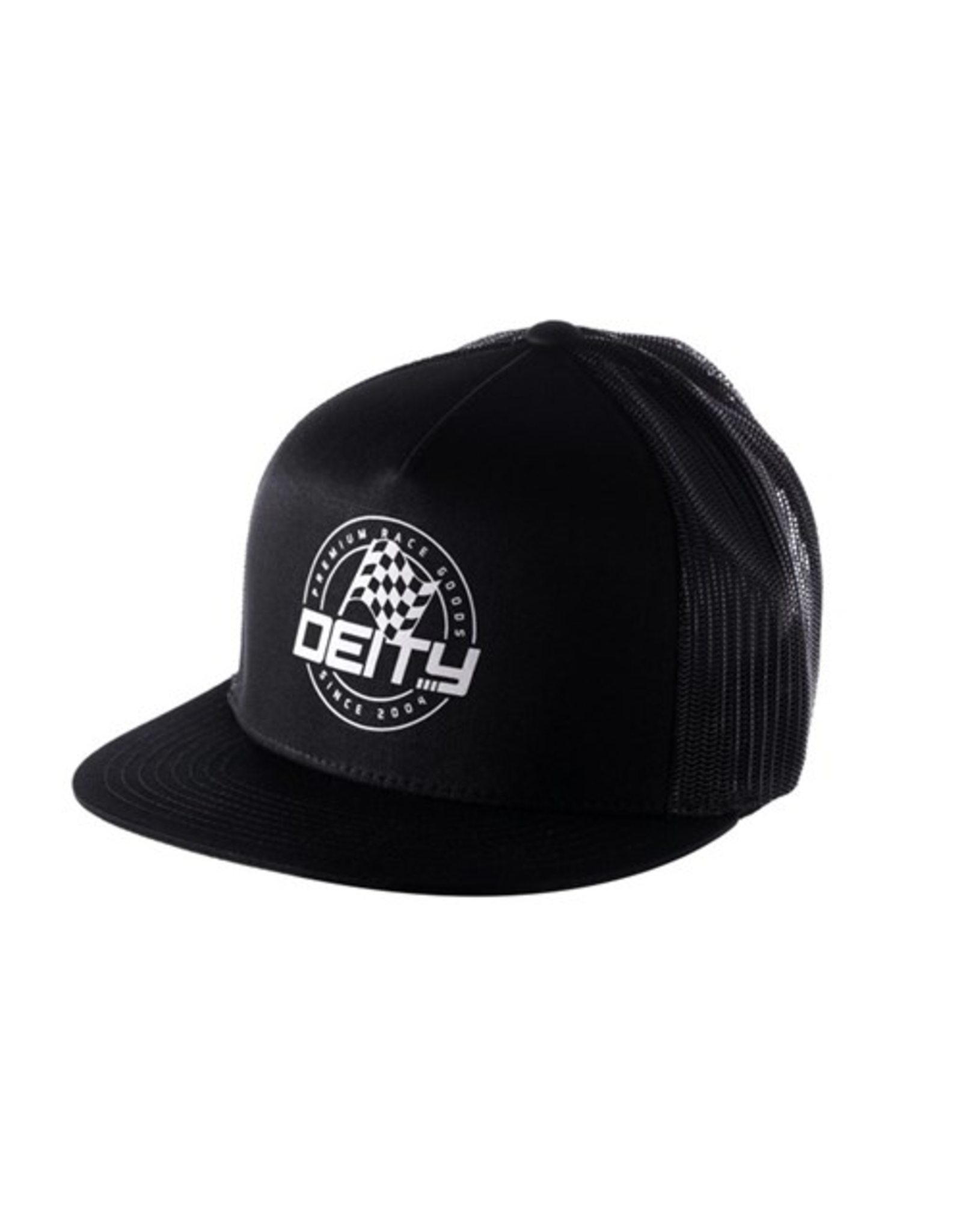 DEITY HAT DEITY PODIUM TRUCKER BLACK OSFA
