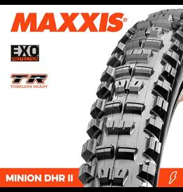 "MAXXIS MAXXIS MINION DHR II 27.5 X 2.40"" TR EXO FOLD 60TPITYRE"