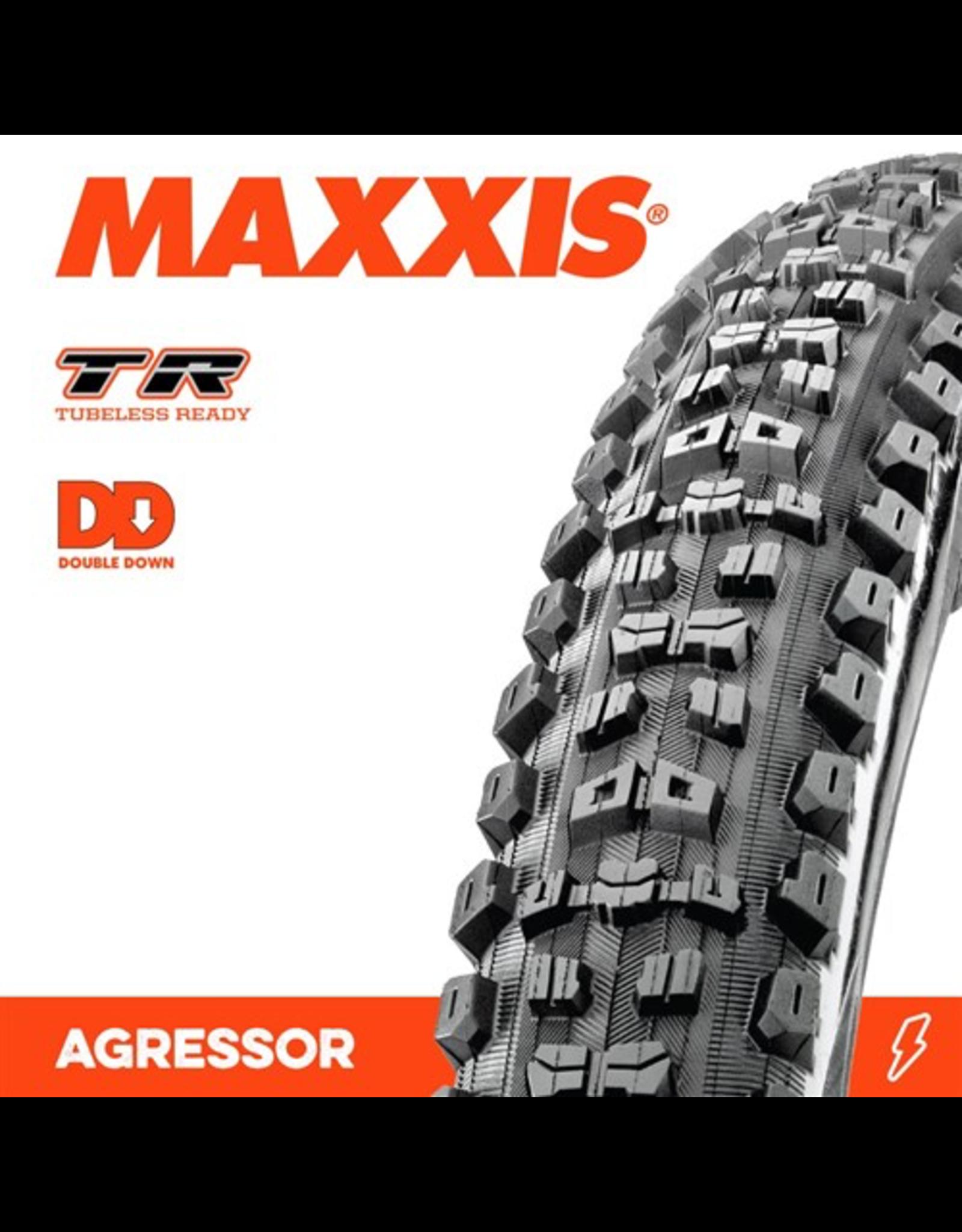 """MAXXIS TYRE MAXXIS AGGRESSOR 27.5 x 2.30"""" TR DD FOLD 120TPI"""