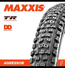 """MAXXIS MAXXIS AGGRESSOR 27.5 x 2.30"""" TR DD FOLD 120TPI TYRE"""
