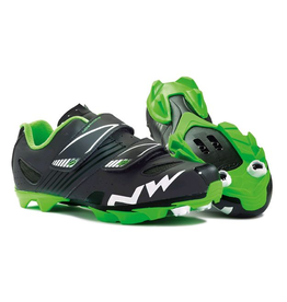 NORTHWAVE SHOES NORTHWAVE HAMMER JUNIOR BLACK GREEN