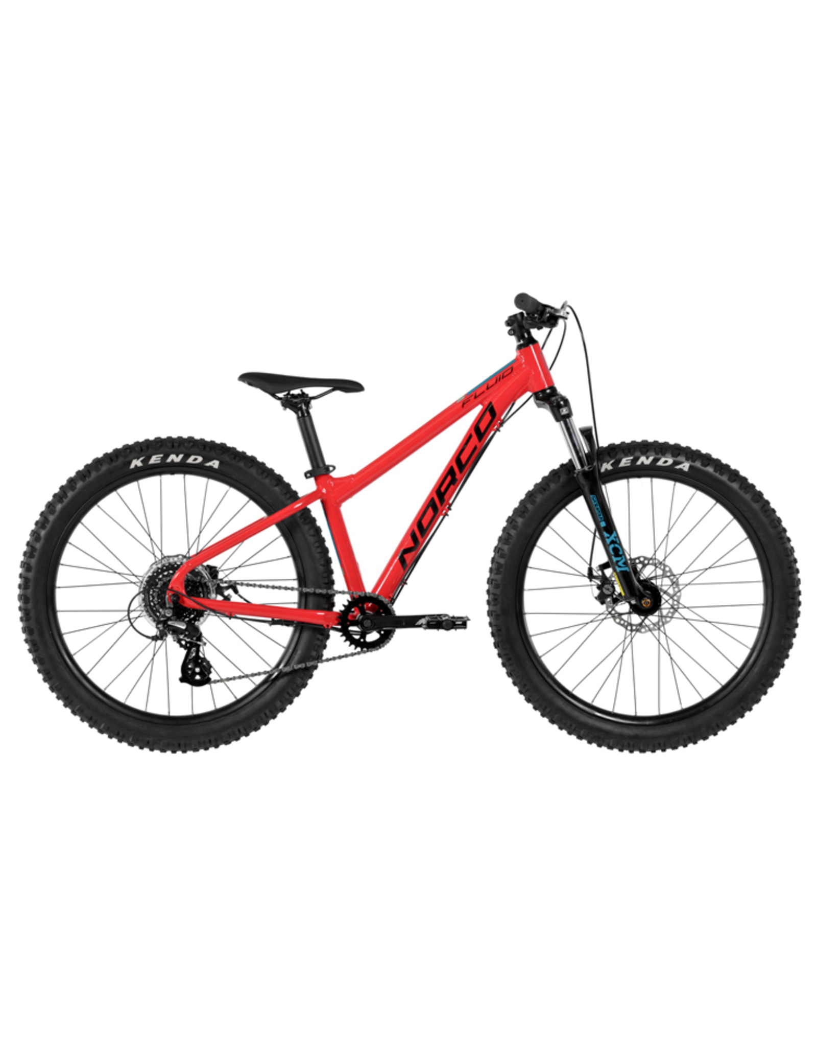 "NORCO NORCO YOUTH 24"" FLUID 4.3 HT PLUS RED"