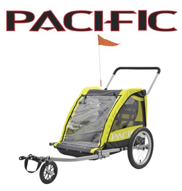 Pacific TRAILER PACIFIC 2 IN 1 TRAILER/STROLLER - 2 CHILD