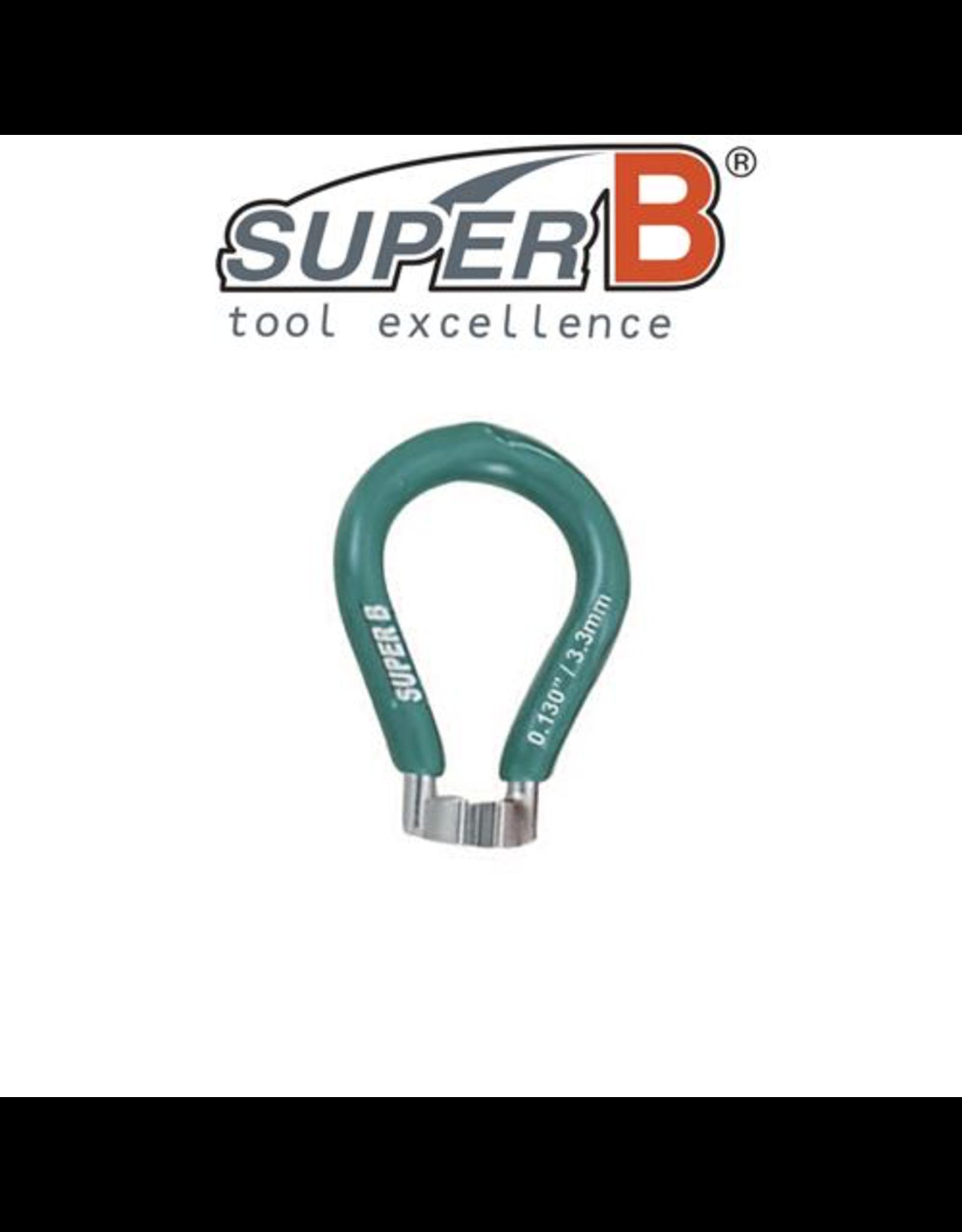 SUPER-B SUPER-B CLASSIC SPOKE WRENCH 3.3MM TOOL