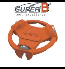 SUPER-B SUPER-B CLASSIC SPOKE WRENCH MULTI 3.2, 3.3 & 3.5MM TOOL