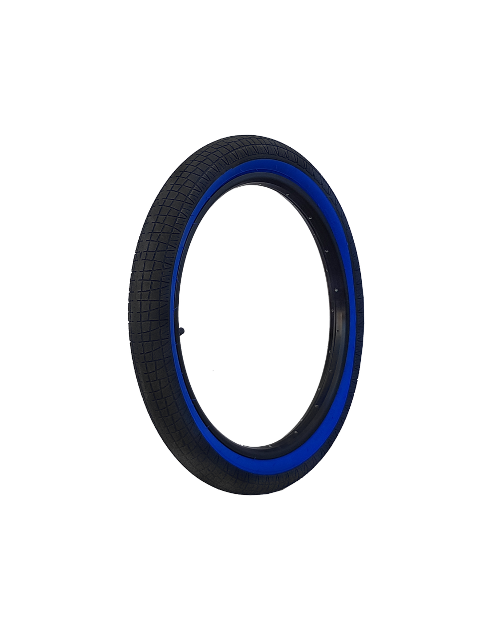 "DRS TYRE DRS ARROW FS 20 X 2.25"" BLACK/BLUE WALL"