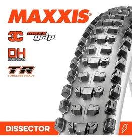 "MAXXIS MAXXIS DISSECTOR 29 X 2.40"" WT 3C MAXX GRIP DH EXO TR FOLD 60TPI TYRE"