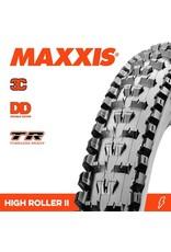 "MAXXIS MAXXIS HIGH ROLLER 2 27.5 X 2.40"" TR 3C MAXX TERRA DD EXO TR FOLD 120TPI TYRE"