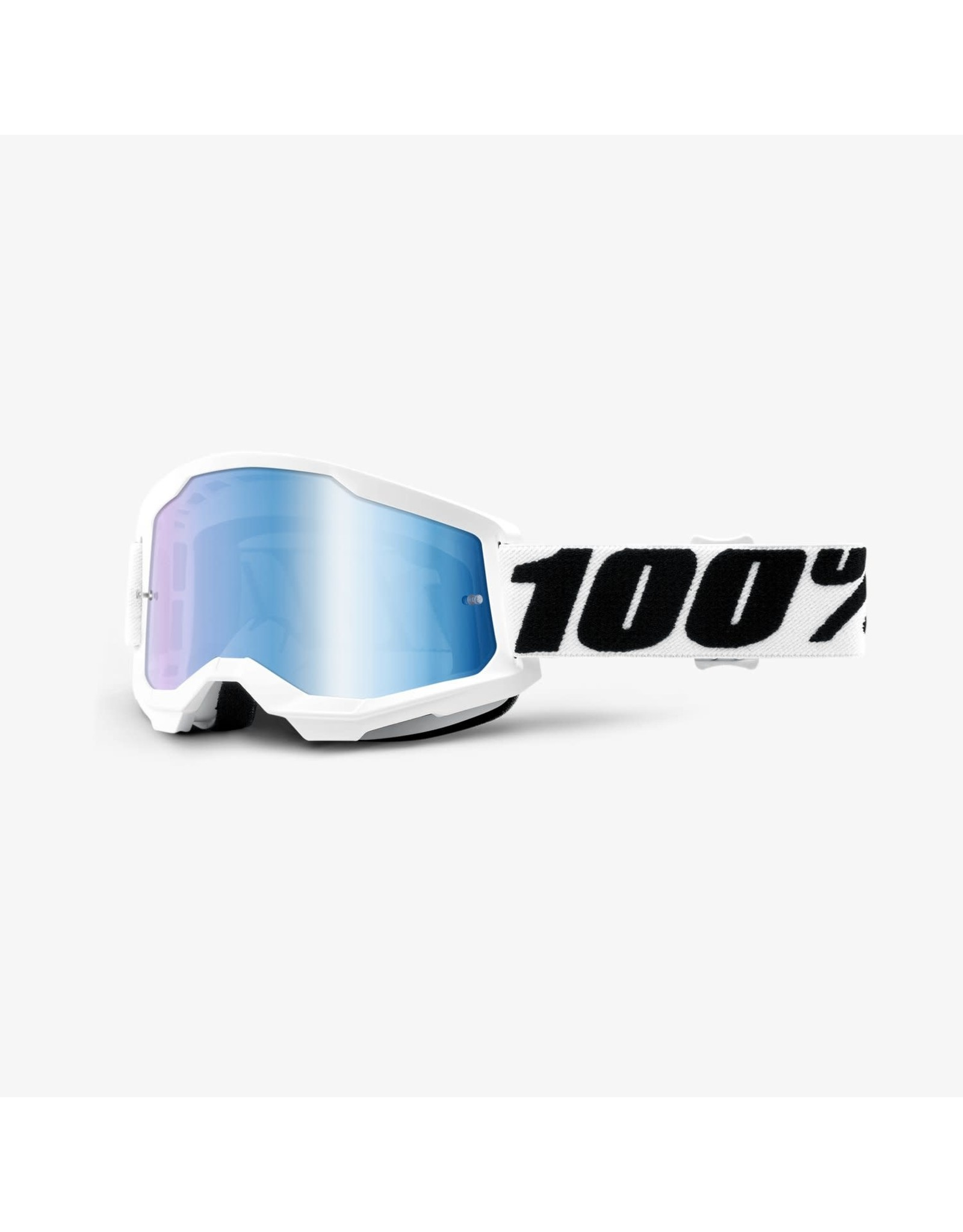 100% GOGGLES 100% STRATA 2 MIRROR LENS EVEREST