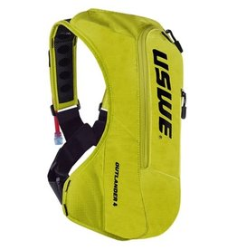 USWE HYDRATION BAG USWE 20 OUTLANDER 4 PACK 2.5L/3.0L SHAPE SHIFT CRAZY YELLOW