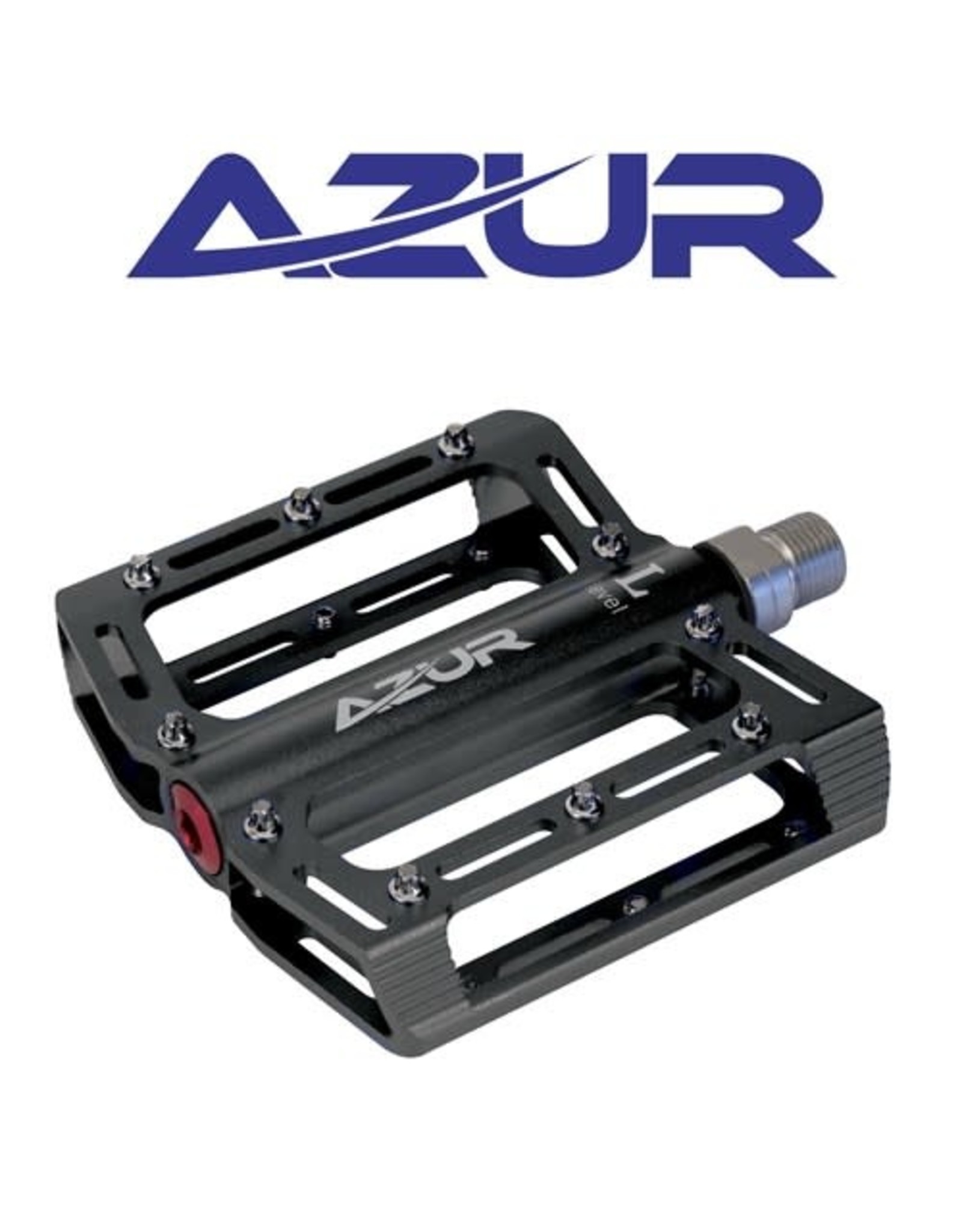 "AZUR PEDALS AZUR STOUT FLAT 9/16"" SEALED BEARING"