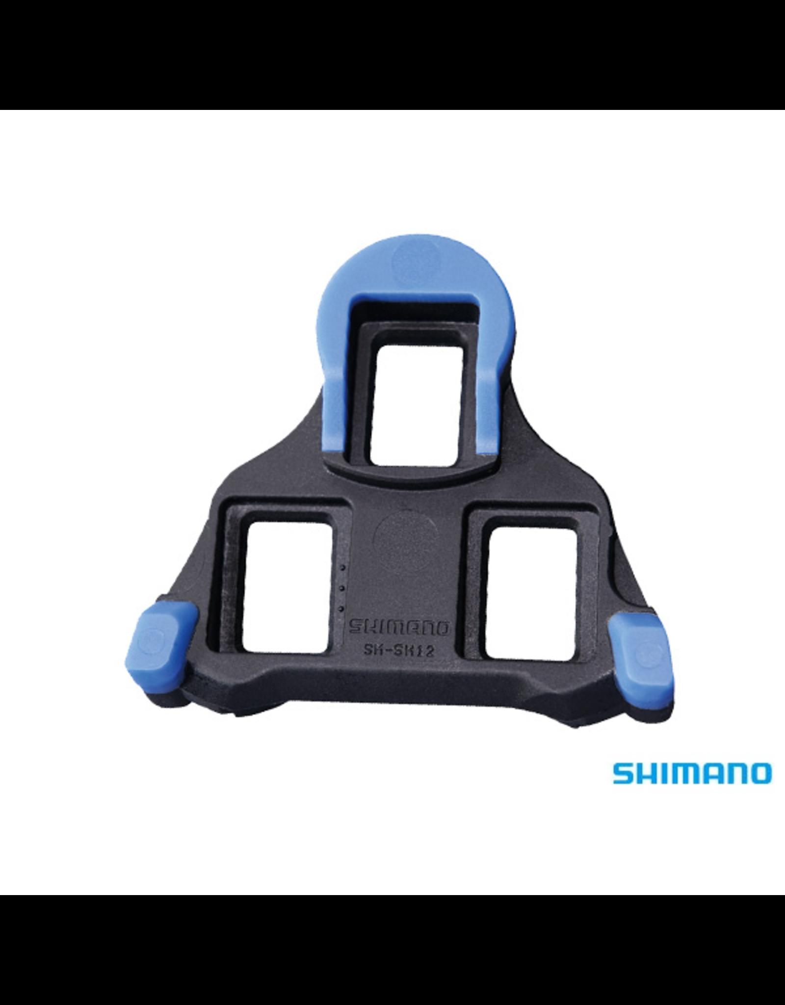 Shimano SHIMANO SM-SH12 SPD-SL BLUE PEDAL CLEAT SET