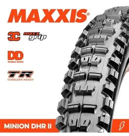"""MAXXIS TYRE MAXXIS MINION DHR II 29 X 2.40"""" TR WT DD 3C MAXX GRIP FOLD 120TPI"""