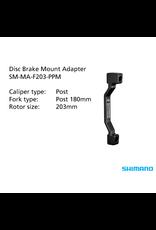 Shimano SHIMANO SM-MA-F203-PPM ADAPTER 203mm CALIPER: POST MOUNT: POST