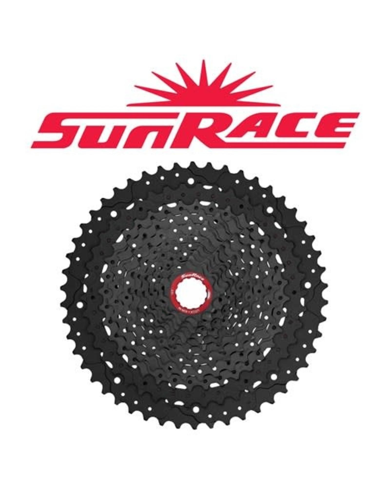 SUNRACE CASSETTE SUNRACE MZ91X 12 SPEED 11-50T BLACK SRAM XD COMPATIBLE