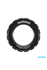 Shimano BRAKE PARTS SHIMANO HB-M618 ROTOR LOCK RING & WASHER EXTERNAL SERRATION  (15-20MM AXLE)