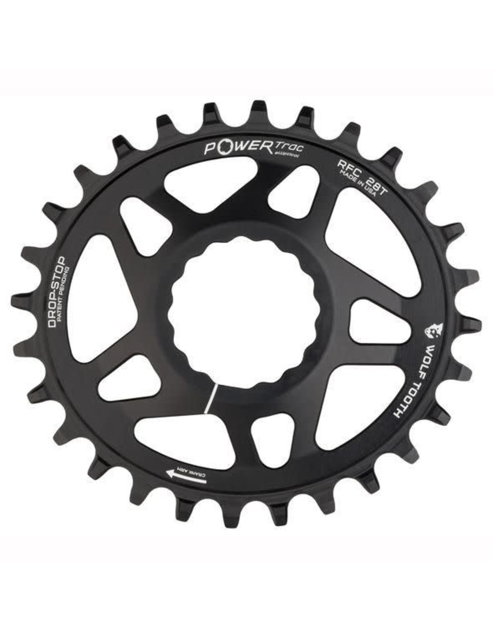 ABSOLUTE BLACK CHAINRING WOLF TOOTH RACEFACE CINCH DIRECT MOUNT ELIPTICAL 32T BOOST BLACK