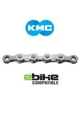 KMC KMC CHAIN E10 10 SPEED 122 LINK SILVER (E-BIKE CHAIN)