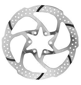 TRP TRP-29 SLOTTED 1 PIECE 180MM 6 BOLT STAINLESS STEEL BRAKE ROTOR