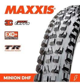 """MAXXIS MAXXIS MINION DHF 29 X 2.60"""" TR EXO+ 3C MAXX TERRA FOLD 60TPI TYRE"""