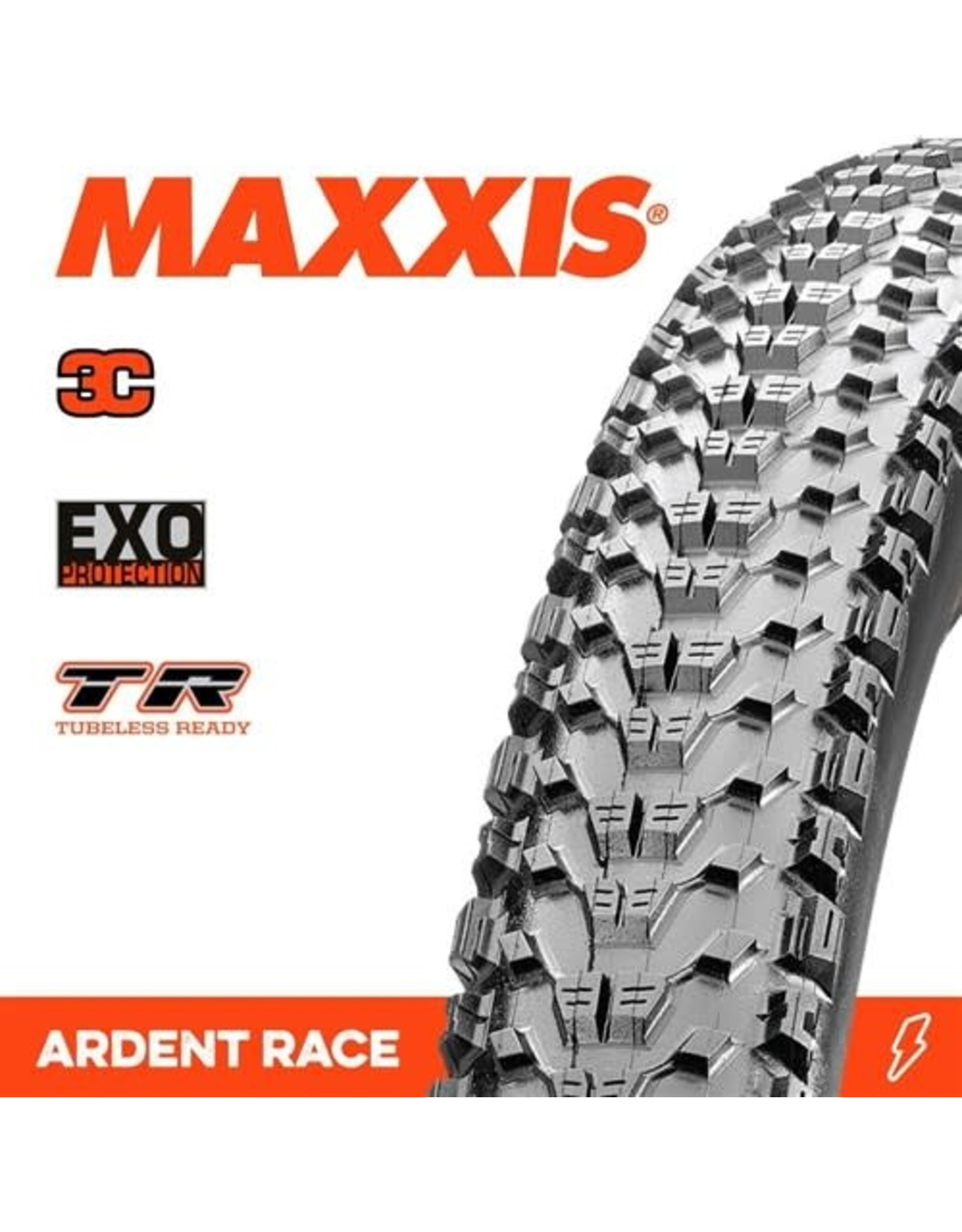 """MAXXIS TYRE MAXXIS ARDENT RACE 26 X 2.20"""" TR 3C EXO FOLD 120TPI"""