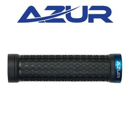 AZUR AZUR ATOM LOCK-ON GRIPS BLUE