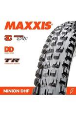 """MAXXIS MAXXIS MINION DHF 29 X 2.50"""" WT TR DD 3C MAXX GRIP FOLD 120X2TPI TYRE"""