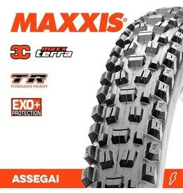 """MAXXIS MAXXIS ASSEGAI 27.5 X 2.60"""" WT TR EXO+ 3C MAXX TERRA FOLD 60TPI TYRE"""