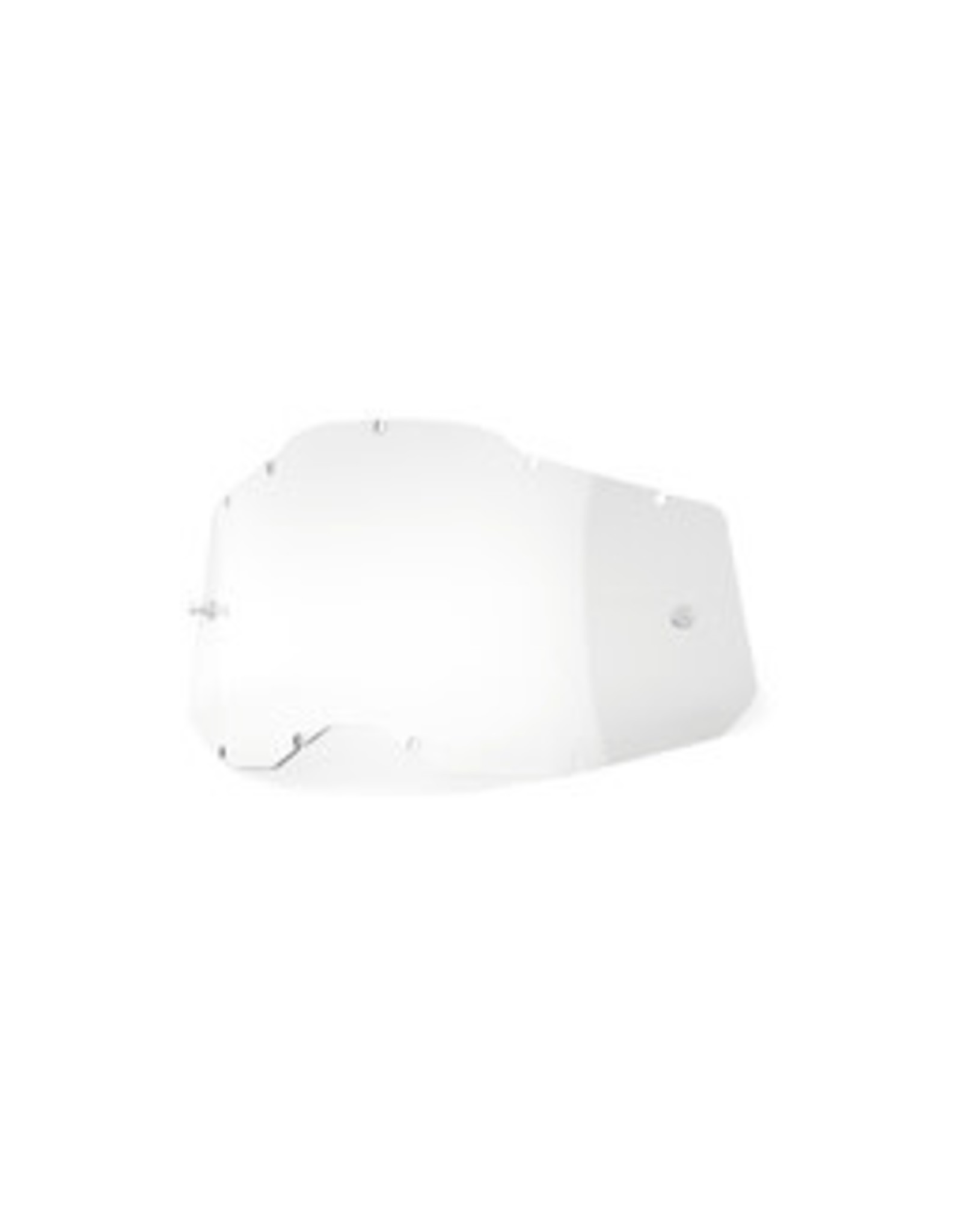 100% 100% RACECRAFT/ACCURI GOGGLES CLEAR REPLACEMENT LENS