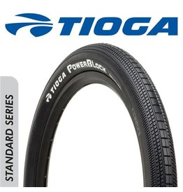 "TIOGA TIOGA POWERBLOCK 20 X 1-3/8"" TYRE"