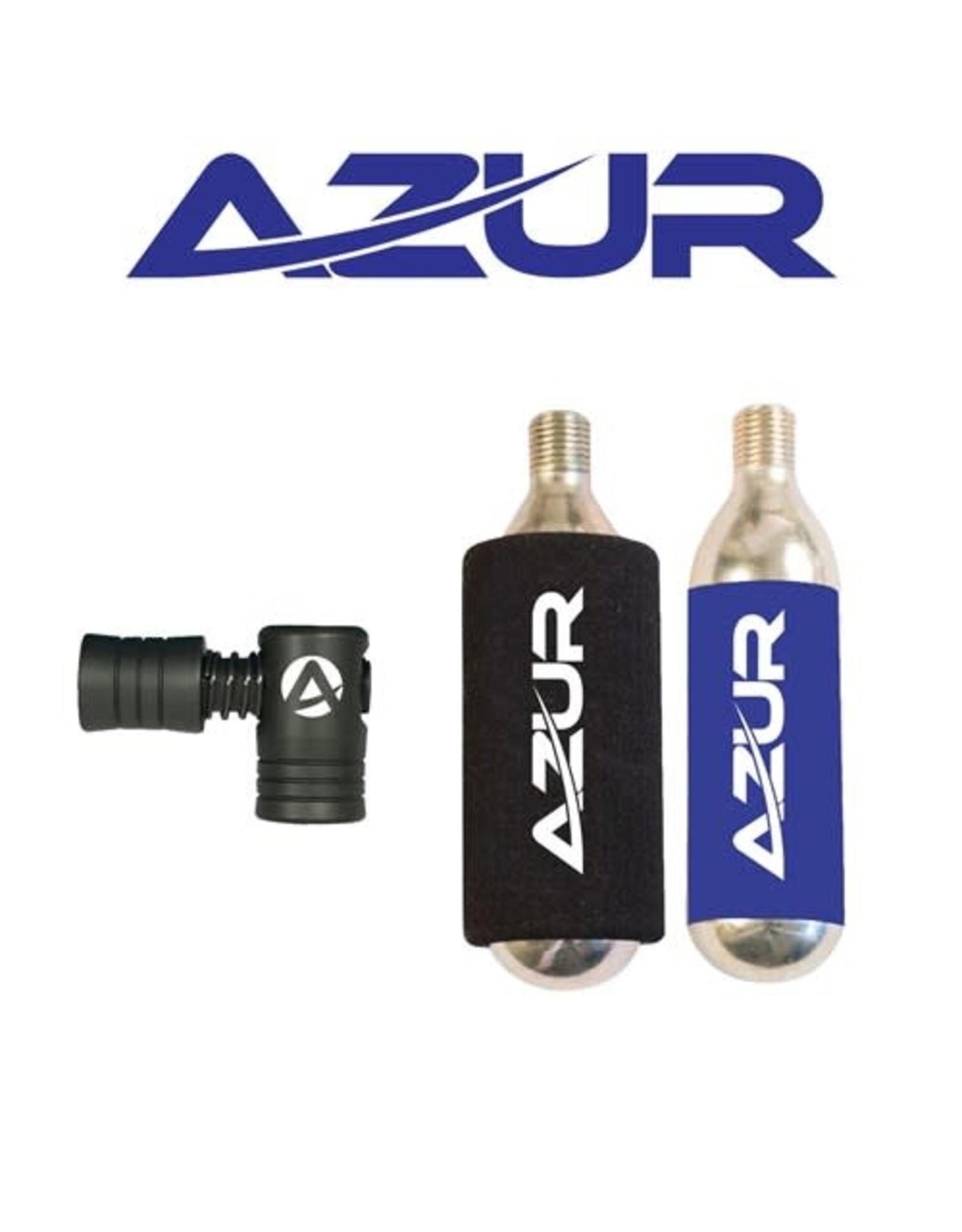 AZUR AZUR EZY AIR CO2 PUMP WITH 2X25G CO2 CARTRIDGE