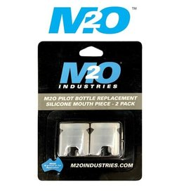 M20 M2O PILOT BOTTLE REPLACEMENT SILICONE MOUTH PIECE 2 PACK