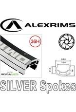"ALEX ALEX DM-18 29"" REAR 135MM 8-10 SPEED BLACK 6 BOLT JOYTECH HUB WHEEL (Matching Front 94424)"