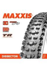 """MAXXIS MAXXIS DISSECTOR 29 X 2.40"""" WT 3C MAXX GRIP DD EXO TR FOLD 120TPI TYRE"""