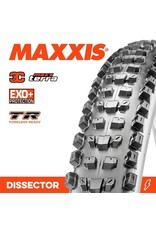 "MAXXIS MAXXIS DISSECTOR 29 X 2.40"" WT 3C MAXX TERRA EXO + TR FOLD 120TPI TYRE"