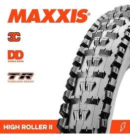 "MAXXIS MAXXIS HIGH ROLLER 2 29 X 2.50"" WT TR 3C MAXX TERRA DD EXO FOLD 60TPI TYRE"