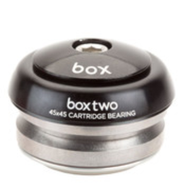 "BOX BMX BOX TWO 1-1/8"" 45x45 BLACK HEADSET"