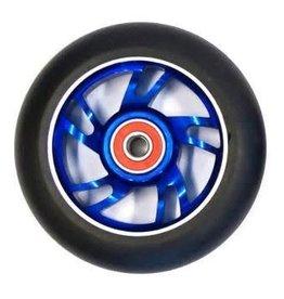 BULLETPROOF WHEEL ALLOY 100MM ABEC 9 BEARING BLUE SCOOTER