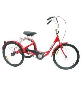 "GOIMER TRIKE 20"" Coaster (Footbrake), 2500 Series (Designed in Australia) Bright RED"