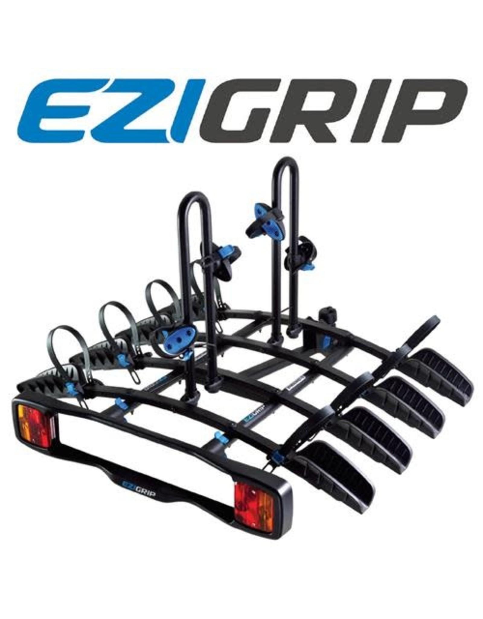 EZI GRIP EZIGRIP ENDURO 4 BIKE PLATFORM RACK TOE BALL W/LIGHTBOARD