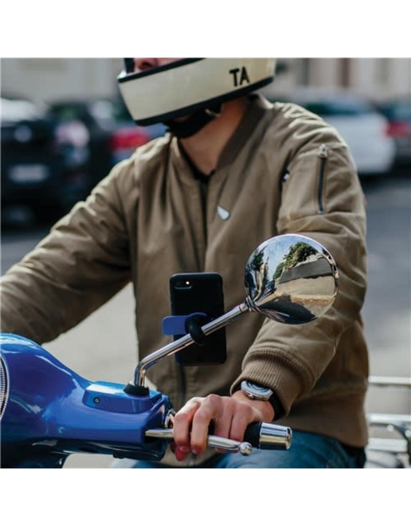 QUAD LOCK QUAD LOCK MOTORCYCLE MIRROR MOUNT PHONE HOLDER